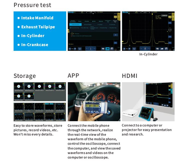 Pressure test and more