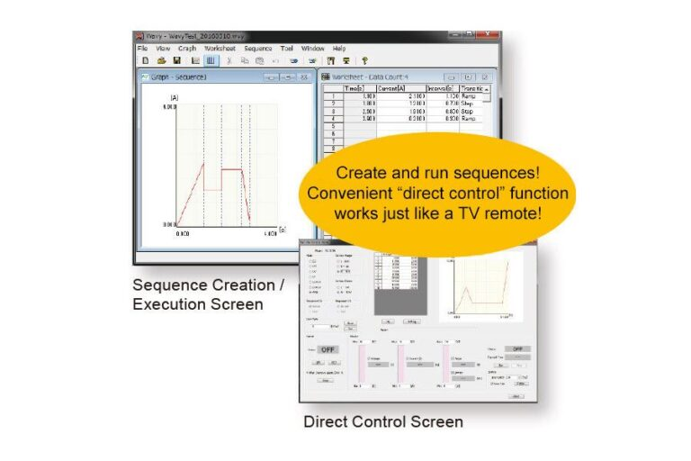 Sequence Creation Software Wavy for PLZ-5W (SD023-PLZ-5W)