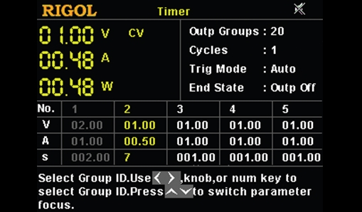 Timing output function